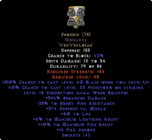 Phoenix Monarch - 380-399% ED