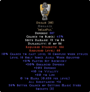 Dream Monarch - 15-19 Res