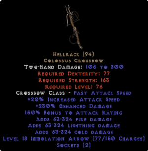Hellrack - 230% ED & 150% AR - Perfect