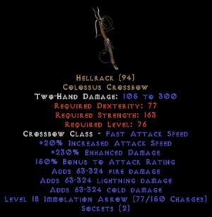 Hellrack - 230% ED
