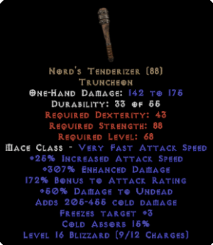 Nord's Tenderizer 15% Cold Absorb