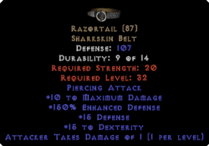 Razortail - 150% ED