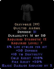 Greyform - 31 Def - Perfect