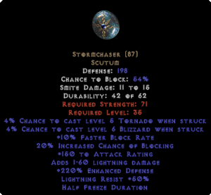 Stormchaser - 220% ED - Perfect