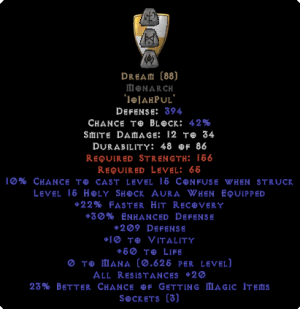 Dream Monarch - 20 Res