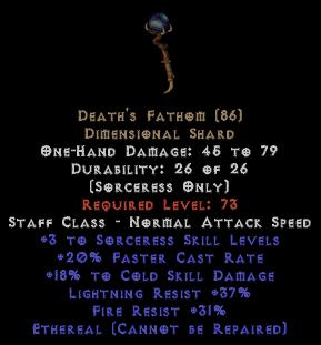 Death's Fathom - Ethereal - Unid