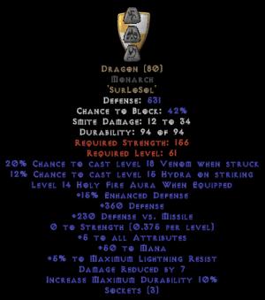 Dragon Monarch - 5 All Stats - Perfect