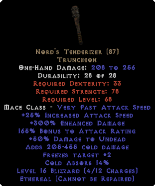 Nord's Tenderizer - Ethereal