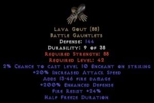 Lava Gout - 200% ED