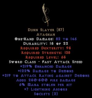 Djinn Slayer - 2 Sockets