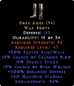 Gore Rider - 200% ED - Perfect