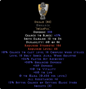 Dream Monarch - 5-14 Res