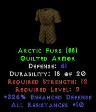 Arctic Furs - 51 Def, +325% ED Perfect