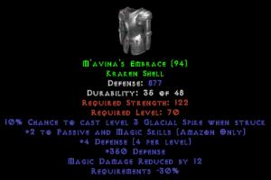 M'avina's Embrace - 12 MDR