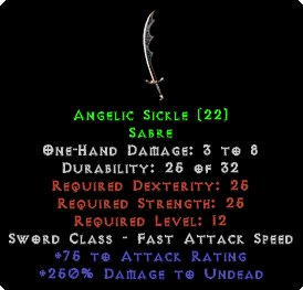 Angelic Sickle