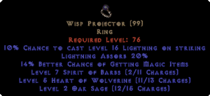 Wisp Projector 20% LA & 10-19% MF