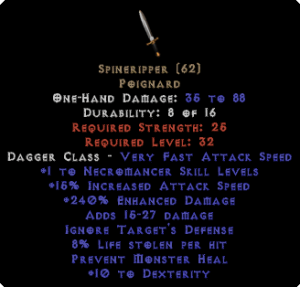 Spineripper - 240% ED - Perfect