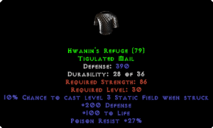 Hwanin's Refuge - 390 Def - Perfect