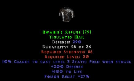 Hwanin's Refuge - 390 Def - Perfect