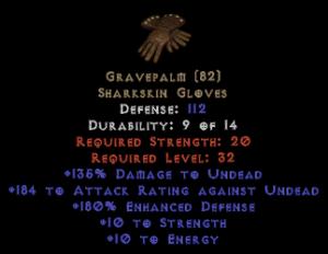 Gravepalm - 180% ED