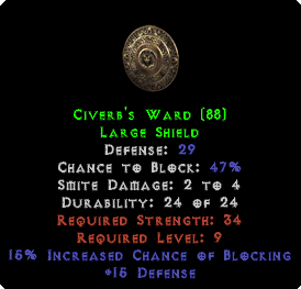 Civerb's Ward - 29 Def - Perfect