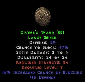 Civerb's Ward - 29 Def - Perfect