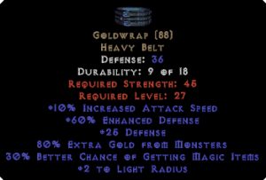 Goldwrap - +60% ED, 80% GF - Perfect