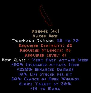 Riphook - 220% ED & 10% LL - Perfect