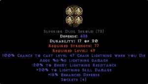 =+20/-20 Lightning Facet Die Dusk Shroud