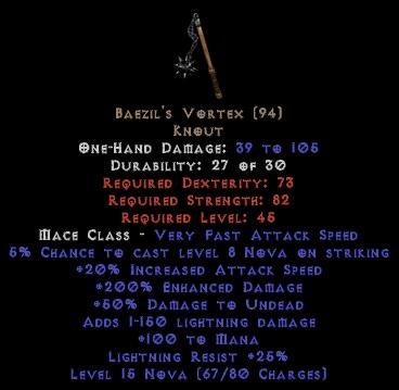 Baezil's Vortex - 200% ED - Perfect