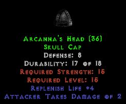 Arcanna's Head
