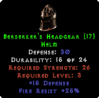 Berserker's Headgear