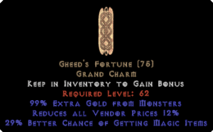 Gheed's Fortune 20-34% mf