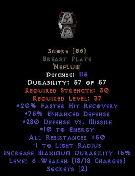 Smoke - BrWest Plate - 75-89% ED