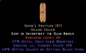 Gheed's Fortune 40% MF/10-14% RVP