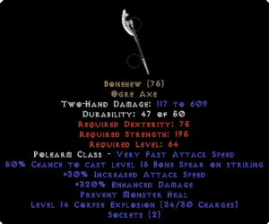 Bonehew 320% ED - Perfect