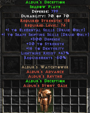 Aldur's Deception