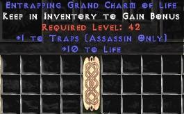 Assassin Traps w/ 10-20 Life GC