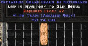Assassin Traps w/ 21-29 Life GC