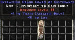 Assassin Traps w/ 31-34 Life GC