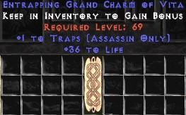 Assassin Traps w/ 36-39 Life GC
