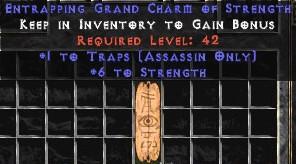 Assassin Traps w/ 6 Strength GC