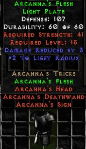 Arcanna's Flesh - 107 Defense - perfecz