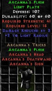 Arcanna's Flesh
