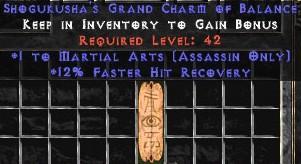 Assassin Martial Arts w/ 12% FHR GC