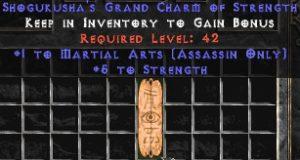 Assassin Martial Arts w/ 3-5 Str GC