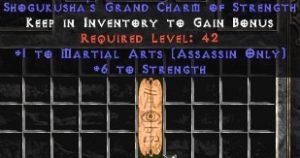 Assassin Martial Arts w/ 6 Strength GC
