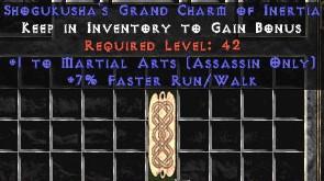 Assassin Martial Arts w/ 7% FRW GC