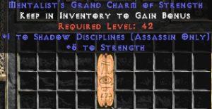 Assassin Shadow Disciplines w/ 3-5 Str GC
