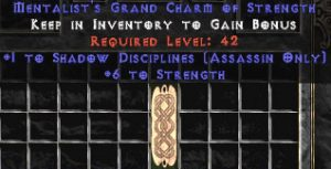 Assassin Shadow Disciplines w/ 6 Strength GC